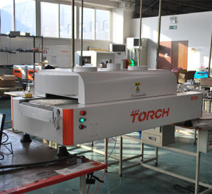 Inline SMT Bench Top Small Reflow Oven with 12heating Zone R350 (TORCH) pictures & photos