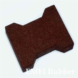Horse Red Dogbone Rubber Tile pictures & photos