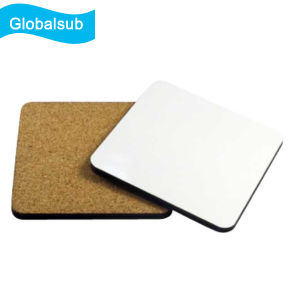 Sublimation MDF Coaster with Cork Back 95*95cm pictures & photos