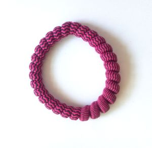 Stripe Decoration Telephone Cord Hairbands pictures & photos