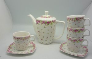 Square Spring Tea Set (WT101037)