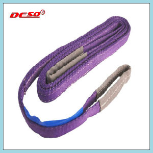 10 Ton Polyester Webbing Sling with Eye pictures & photos
