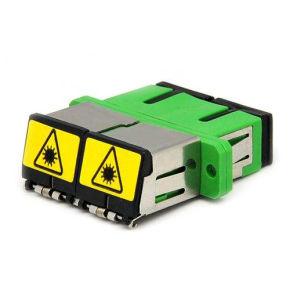 Dust Sc/APC Duplex Fiber Optic Adapter pictures & photos