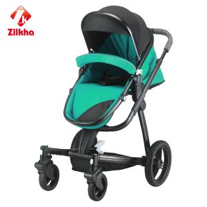 Baby Stroller with Frame and Hot Pressing pictures & photos