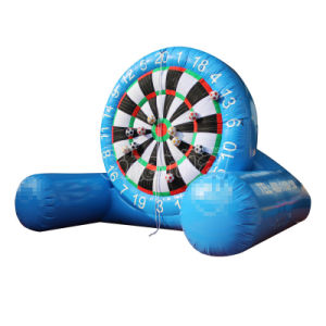 Blue Velcro Dart Board Game Inflatable Soccer Dart Game Chsp572 pictures & photos