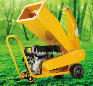 6.5HP 196cc Gasoline Power Wood Chipper Shredder pictures & photos