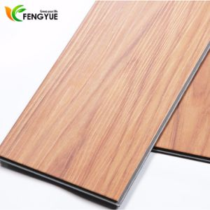 2017 New Pattern Wood Click System PVC Flooring pictures & photos