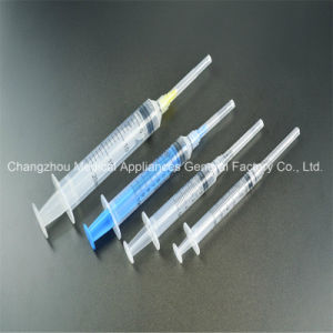 Disposable Safety Retractable Syringe with CE and ISO1485 pictures & photos
