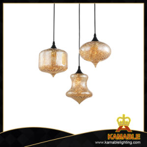 Modern Glass Shade LED Pendant Lamp (DG312-3) pictures & photos