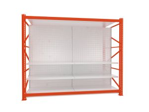 Heavy Duty Hardware Store Supermarket Integrited Combined Gondola Shelving pictures & photos