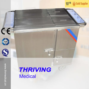 Stainless Steel Electric Heated Type Food Cart (THR-FC011) pictures & photos