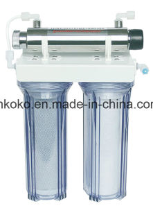 2 Stage Home Use Table Top Pure Water Filter (KK-D-3) pictures & photos