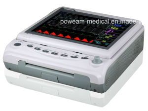 FM-10b/10b Plus Color Display Heart Fetal Monitor with Twins pictures & photos
