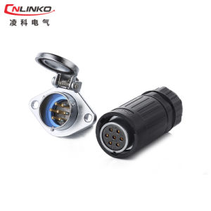 Ya-20 7pin Waterproof Power Connector for LED Display pictures & photos