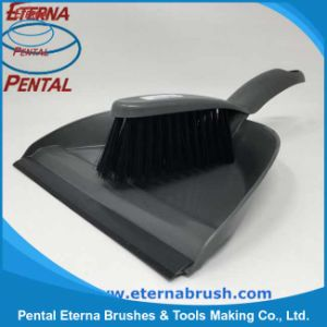 Hot Sale Plastic Dustpan and Brush for Household Cleaning pictures & photos