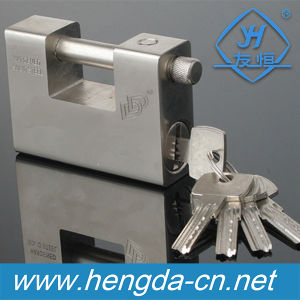 Yh1126 40-90mm Rectangle Iron Padlock Top Security Keyed Alike OEM Logo Print pictures & photos