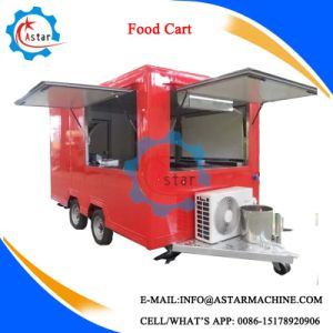 Hot Sell in Austrilian Hot Food Vending Cart pictures & photos