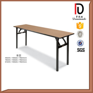 Hotel Banquet Table Round Folding Metal Wooden Table Br-T053 pictures & photos