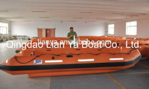 Liya Inflatable Fiberglass Fishing Boat Motor Boat Manufacturer China pictures & photos