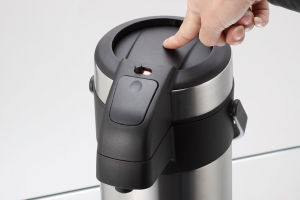 Insulated Vacuum Airpot Thermos Flask Pump Action Airpot pictures & photos