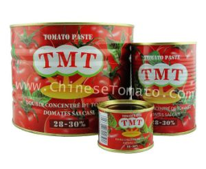 Canned Tomato Paste-A10 Double Concentration pictures & photos