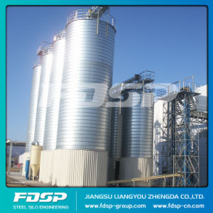 Perfect Quality Flat Bottom Steel Sawdust Silo pictures & photos