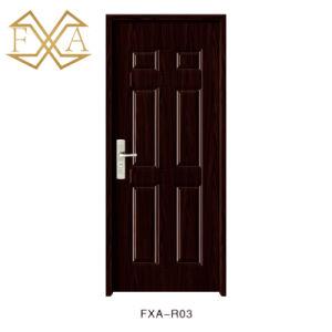The Hot Black Spell Exterior Steel Door Entrance Door (sx-3-2014A) pictures & photos