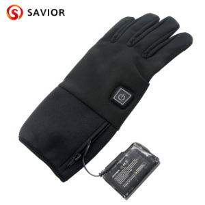 Waterproof soft Rechargeable Heated Glove pictures & photos