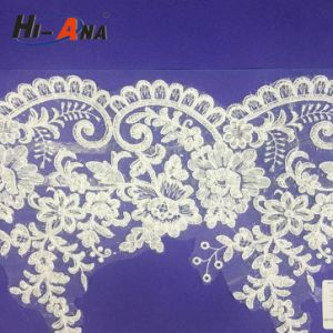 Stict QC 100% Good Price Guipure Embroidery Lace pictures & photos