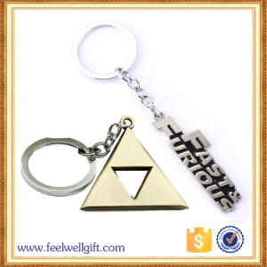 Cheap Custom Supermarket Shopping Cart Metal Trolley Coin Keychain pictures & photos