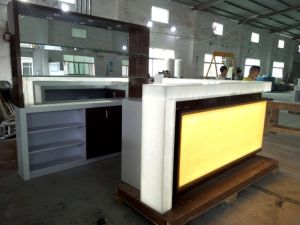 Modern Nightclub Longer Guarantee Luxury Bar Counters with LED pictures & photos
