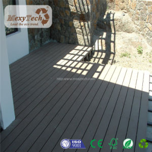 Hot Sale Outdoor Wood Grain WPC Polywood Decking for Stairs pictures & photos
