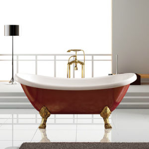 Ellipse Freestanding Classic Bathtub in Red Color, (K1550) pictures & photos