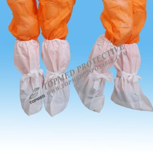 CPE Medical Waterproof Disposable Boot Cover with Elastic, Protective Disposable Overboots pictures & photos