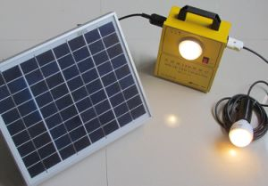 5W Solar LED Lighting System pictures & photos