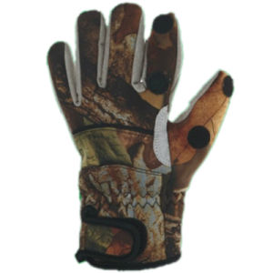 Neoprene Camouflage Hunting/Fishing Glove pictures & photos