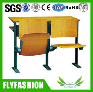College University Step Ladder Folding Desks with Chairs Sf-04h pictures & photos