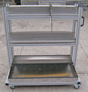 Samsung Cp Feeder Trolley with Aluminum Frame pictures & photos
