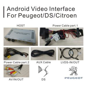 GPS Android Navigation Box for Peugeot 508 Smeg+ Mrn Video Interface pictures & photos