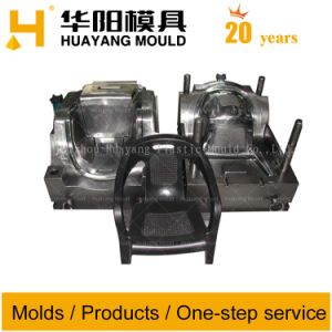 Plastic Furniture Chair Injection Mould (HY003) pictures & photos
