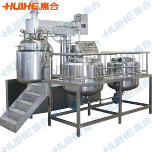 100L Vacuum Mixing Emulsifier China Supplier pictures & photos