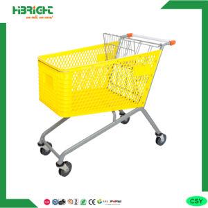 180L Wholesaler Supermarket Plastic Trolley pictures & photos