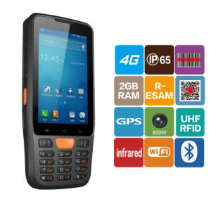 1d Qr Bar Code Data Capture PDA Rugged Android Handheld 2D Barcode Scanner pictures & photos