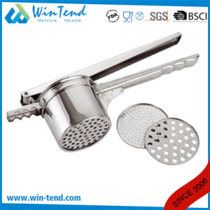 Hot Sale Catering Stainless Steel Kitchen Potato Masher Machine with Handle pictures & photos