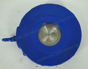 Cast Iron Wafer Type Swing Slim Non Return Check Valve pictures & photos