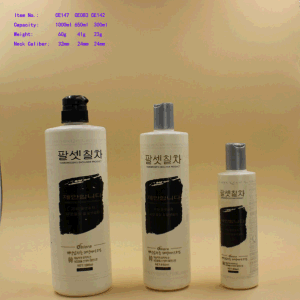 300/650ml/1L Plastic Shampoo Cosmetic Pump Bottle pictures & photos