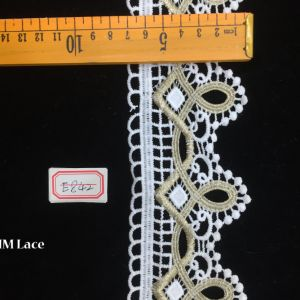 7cm Ivory Chantilly Lace Trimming Viscose Sewing Lace Ribbon Hme842 pictures & photos
