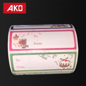 """2""""4"""" (50.8mm*101.6mm) Christmas Style Self Adhesive Sticker Name Label Address Label pictures & photos"""
