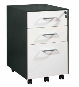 Mobile File Cabinet with Epoxy Powder Coated pictures & photos