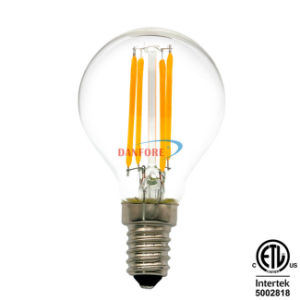 2W 3.5W 5W Vintage Style E14 E27 Glass Edison LED Bulb G14 G45 LED Filament Bulb